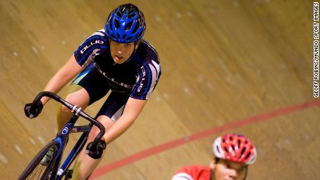 Kristen Worley hoped to compete at the Olympics in track cycling.