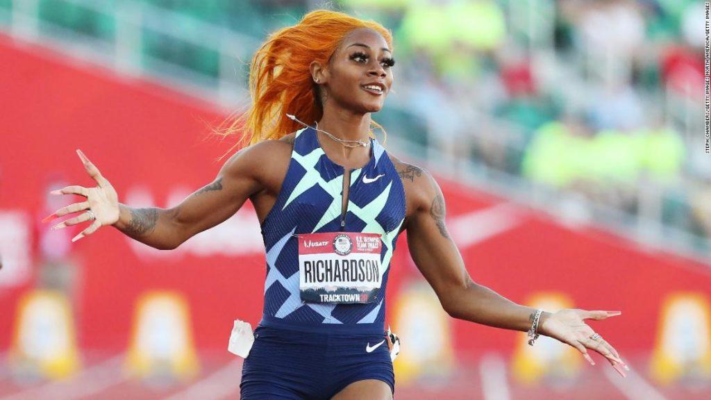 Sha'Carri Richardson promises on Twitter to be world champion... next year.