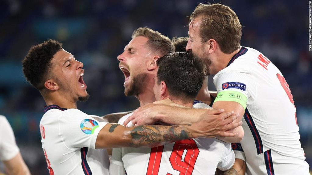 England powers past Ukraine to reach semifinals of Euros for first time in 25 years