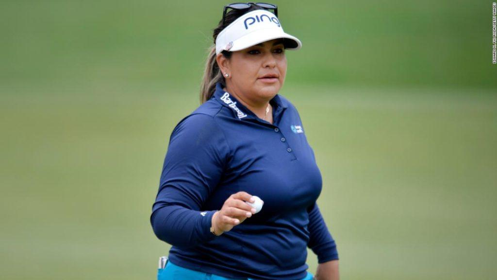 Lizette Salas: US golfer opens up about mental health battle after taking Women's PGA Championship lead