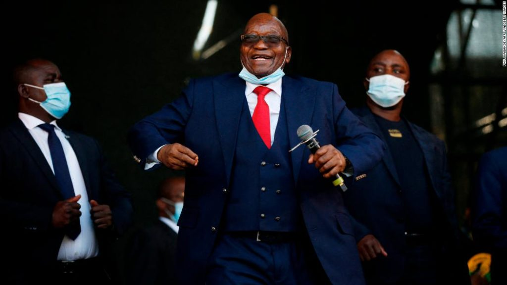 Jacob Zuma likens his treatment by courts to apartheid-era South Africa