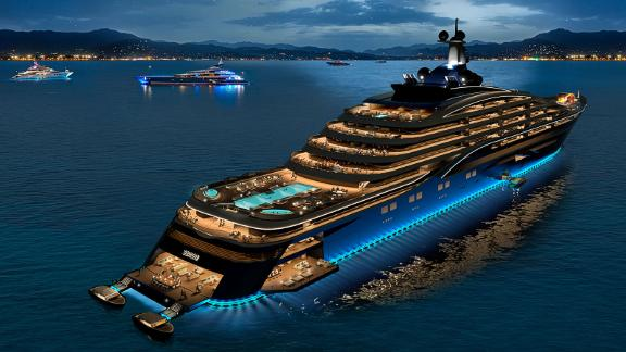 The build, design and outfitting cost of the upcoming project is to be around $600 million.