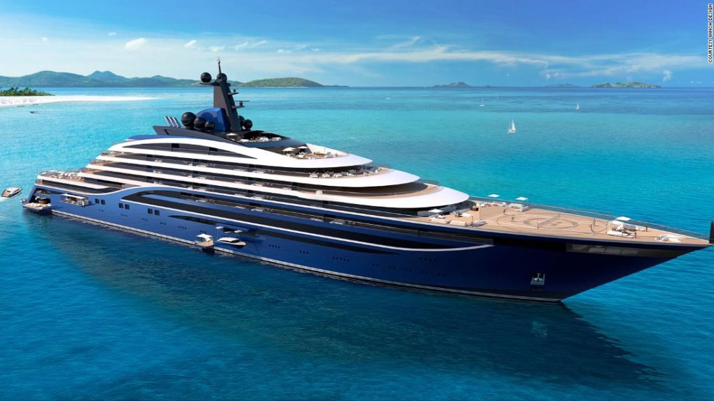 World's first 'yacht liner' unveiled with 39 apartments on board
