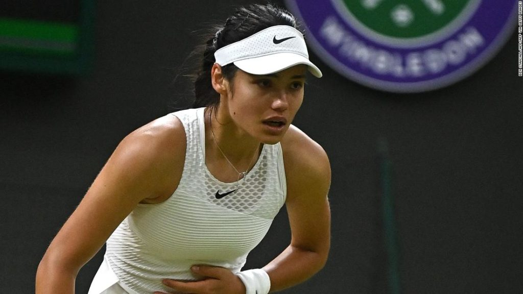 Emma Raducanu dream run at Wimbledon over as she retires with 'breathing difficulties'