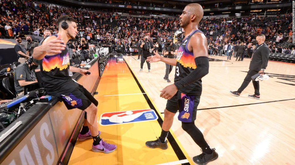 NBA Finals: Chris Paul puts in historic performance as the Phoenix Suns beat the Milwaukee Bucks in Game 1