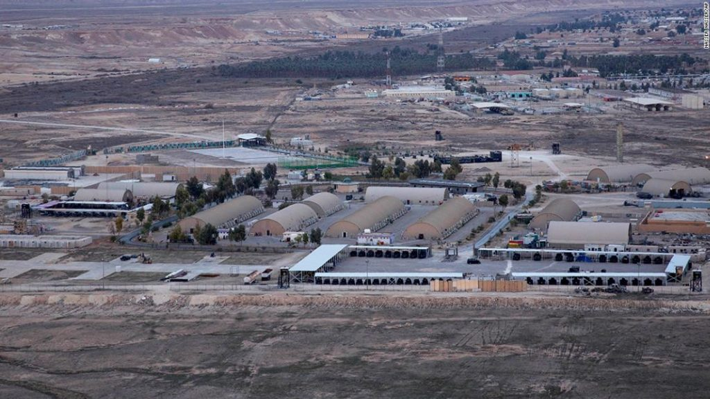 Two injured following rocket attacks on Iraq's airbase, hosts US troops