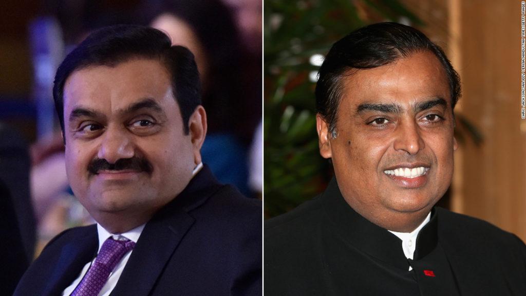 India's billionaires Ambani and Adani got richer while coronavirus pushed millions into poverty