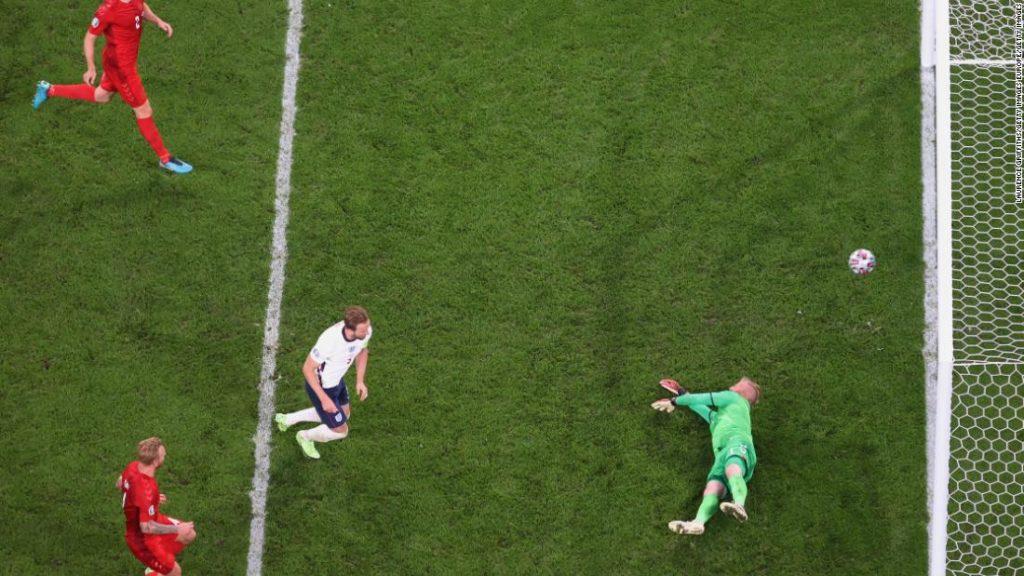 Euro 2020: UEFA investigates laser pointer incident during England's semifinal win over Denmark