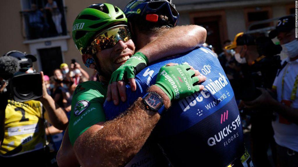 Mark Cavendish: British cyclist equals Eddy Merckx's Tour de France record