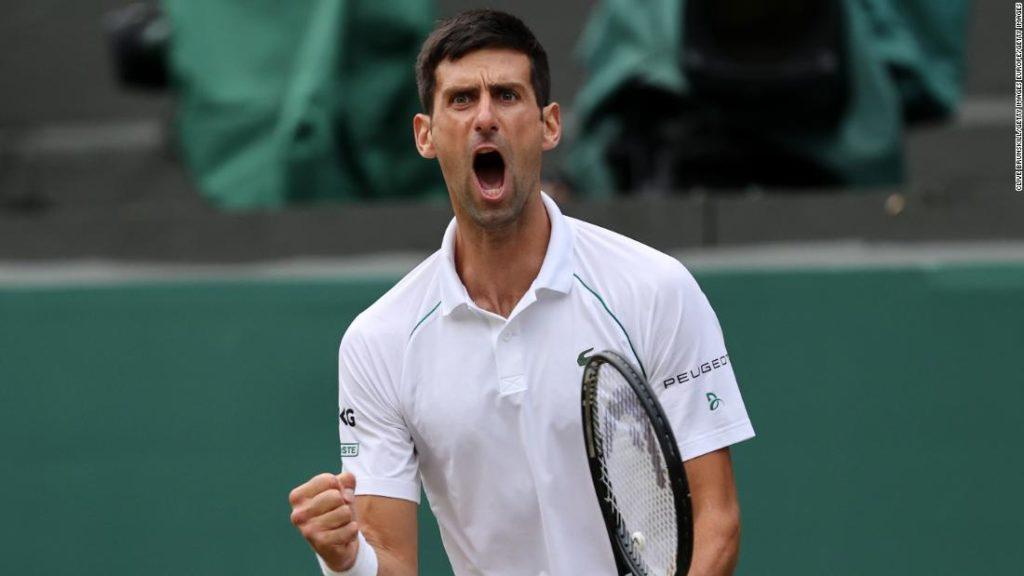 Novak Djokovic reaches Wimbledon final after beating Denis Shapovalov