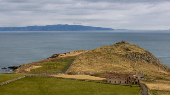 View from Torr Head looking towards the Mull of Kintyre.