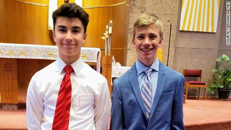 Dominic Viet, left, and Joseph Diener.