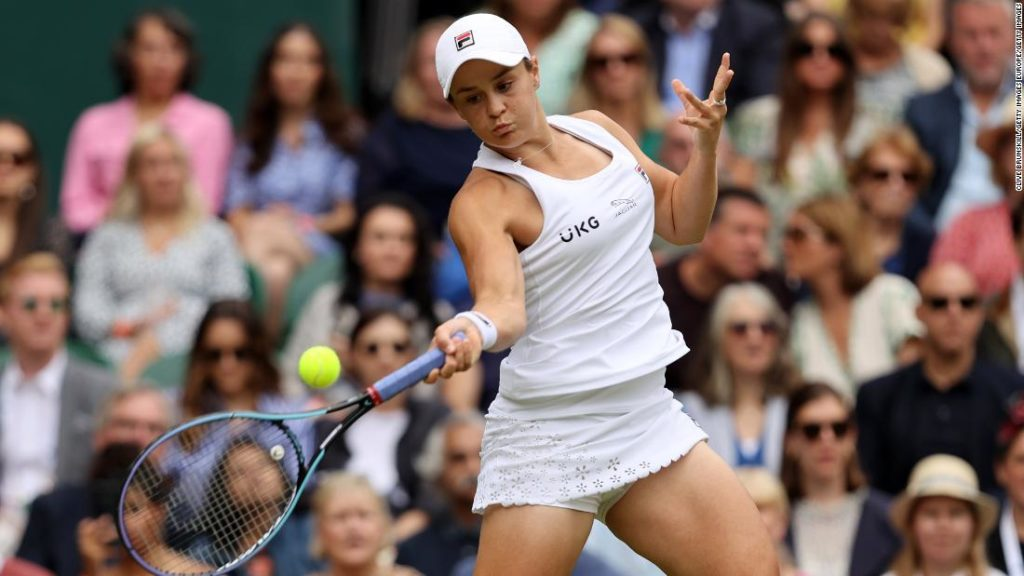 Ashleigh Barty becomes first Australian woman to win Wimbledon single's title in 41 years