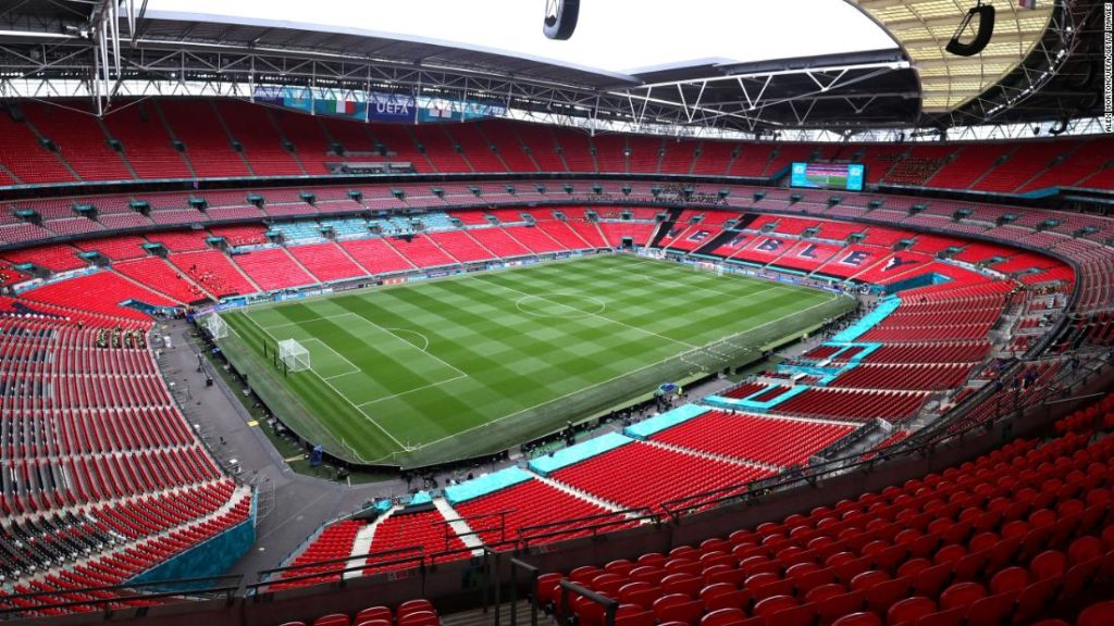 Euro 2020 final: 'Security breach' at Wembley Stadium as small group of people enter venue