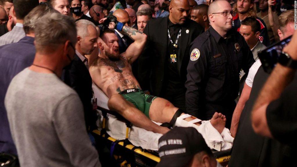 Conor McGregor feeling 'tremendous' after surgery on broken leg