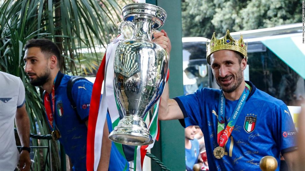Euro 2020: Azzurri makes triumphant return to Italy