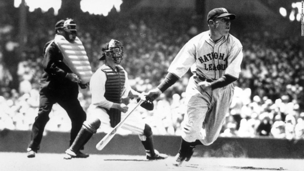 Vintage photos of baseball's All-Star Game