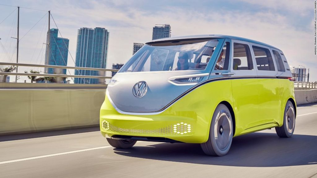 This is Volkswagen's first electric SUV