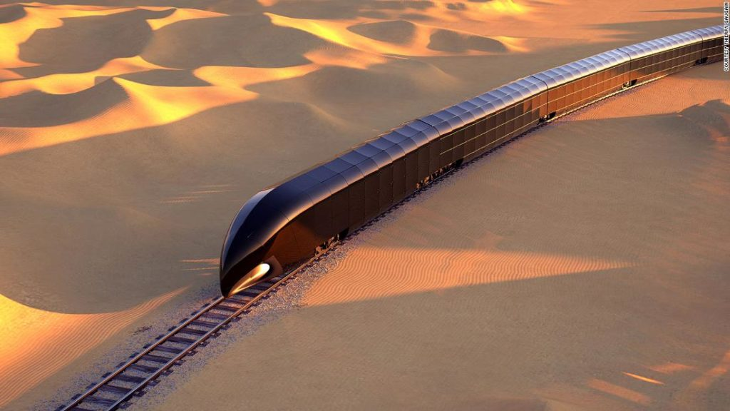 'Palace on rails': World's first private luxury train concept