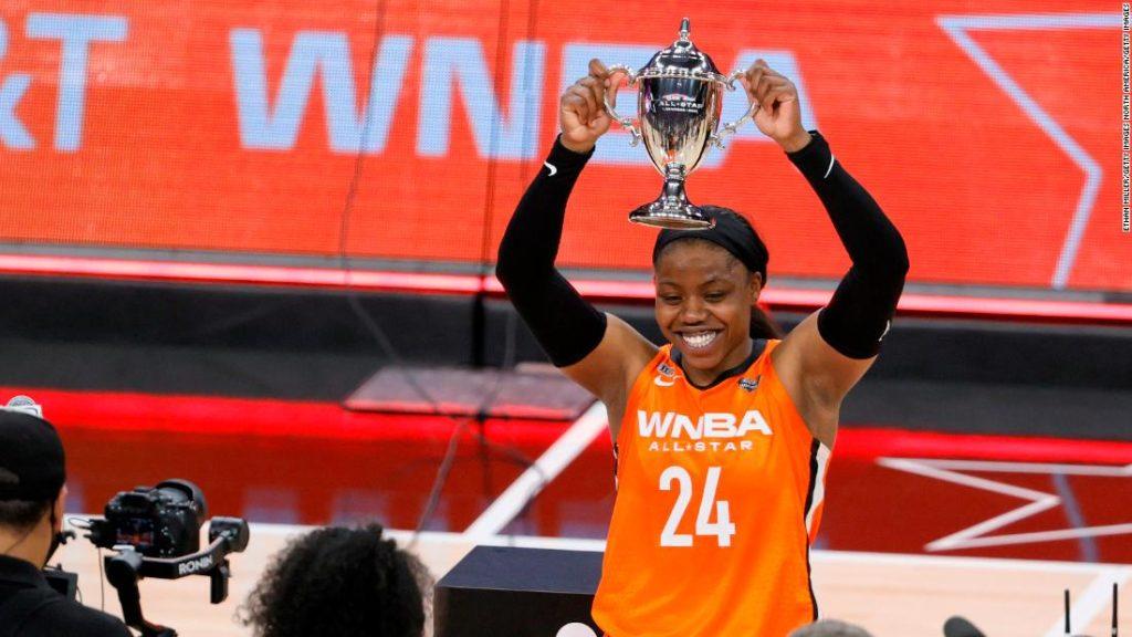 Team WNBA defeats Team USA 93-85 in 2021 WNBA All-Star Game