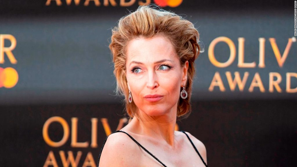 Gillian Anderson says she's never going to wear a bra again