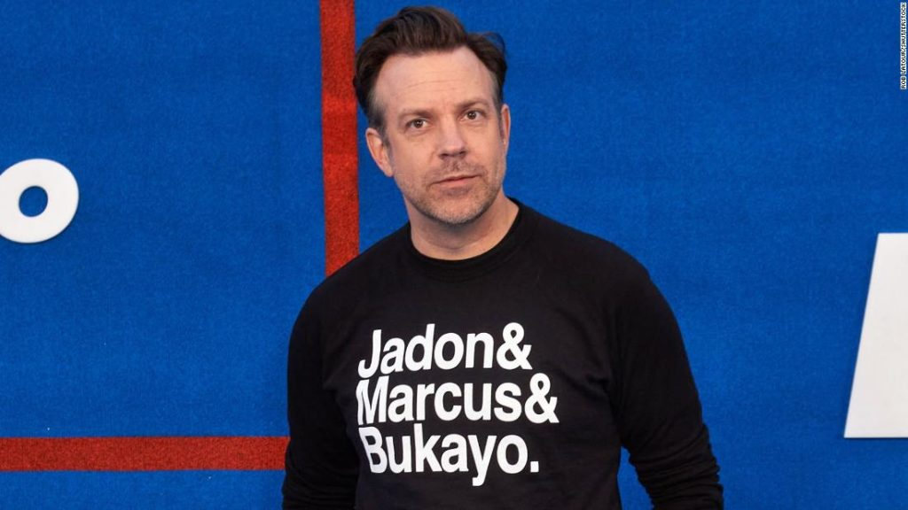 Jason Sudeikis: Actor shows support for racially abused England soccer players