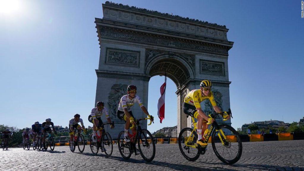 Tadej Pogacar: Slovenian cycling sensation clinches second Tour de France victory