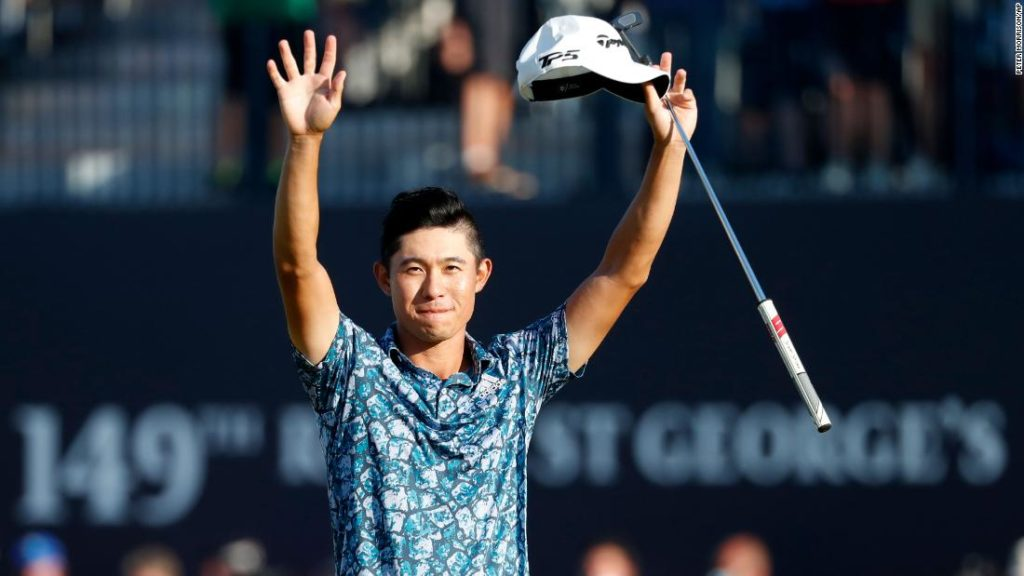 Collin Morikawa makes history with Open Championship win after dramatic final round