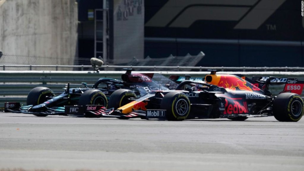 Lewis Hamilton and Max Verstappen involved in high-speed collision at British Grand Prix