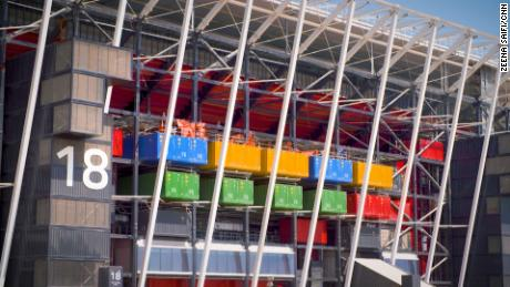 After the World Cup the site will be converted into a retail space and large public park.