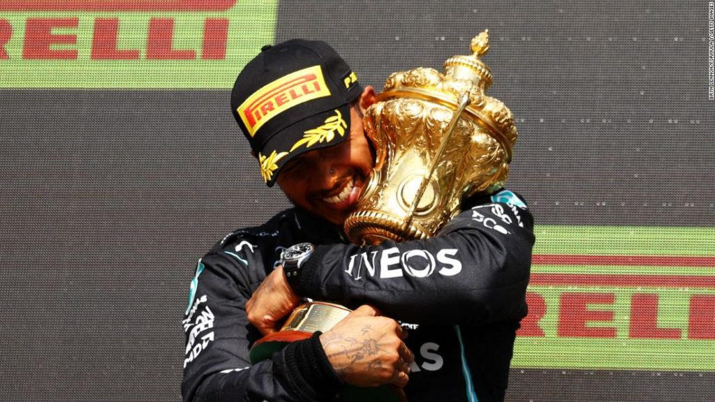 Lewis Hamilton targeted with racist abuse online after controversial British Grand Prix victory