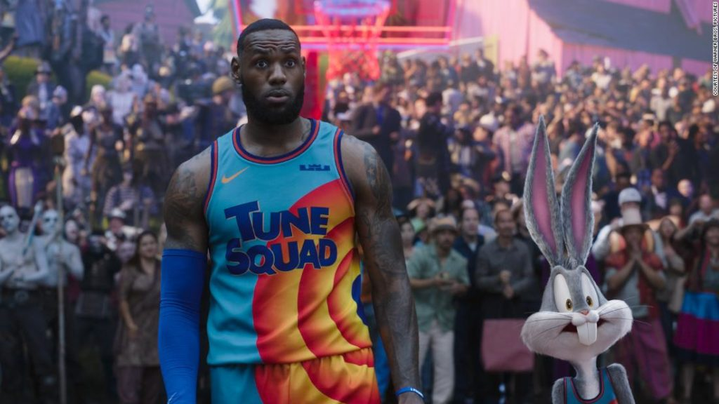 'Space Jam' and LeBron James score a hit at the box office this weekend