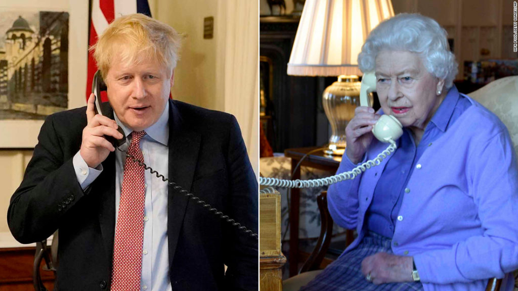 Boris Johnson had to be talked out of meeting the Queen early on in the pandemic, ex-adviser claims