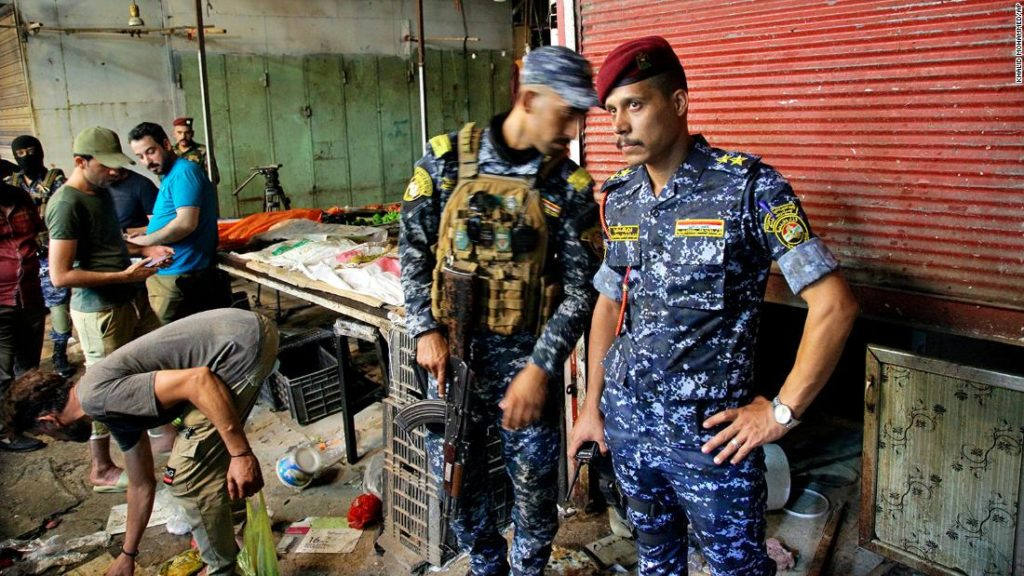 Baghdad bombing: ISIS claims responsibility for explosion on the eve of Eid that killed dozens