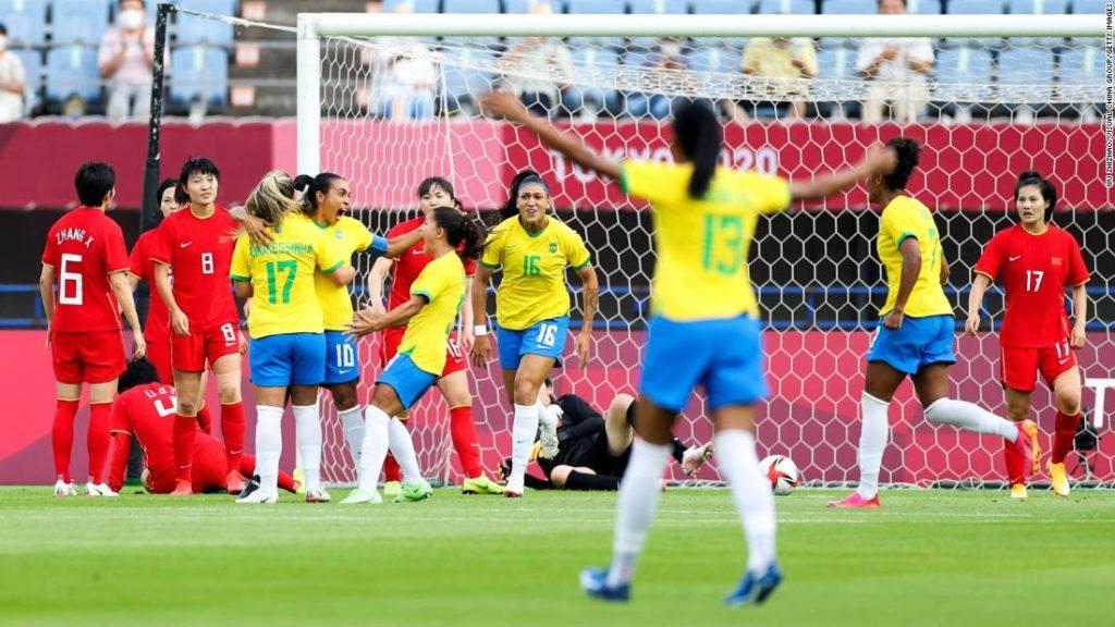 Marta and Formiga: Brazil legends create Olympic history