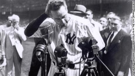 How one speech forever connected Lou Gehrig, baseball and this fatal disease
