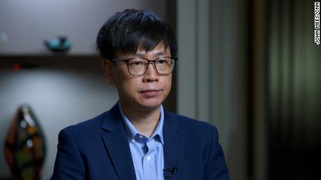 Tsai Sung-ting, CEO of Taiwanese cybersecurity solution provider Team T5.