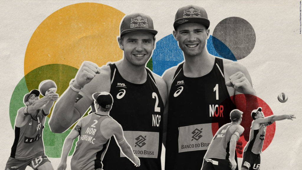 Anders Mol and Christian Sørum: World No. 1 men's beach volleyball duo on rising through the ranks ahead of Tokyo 2020