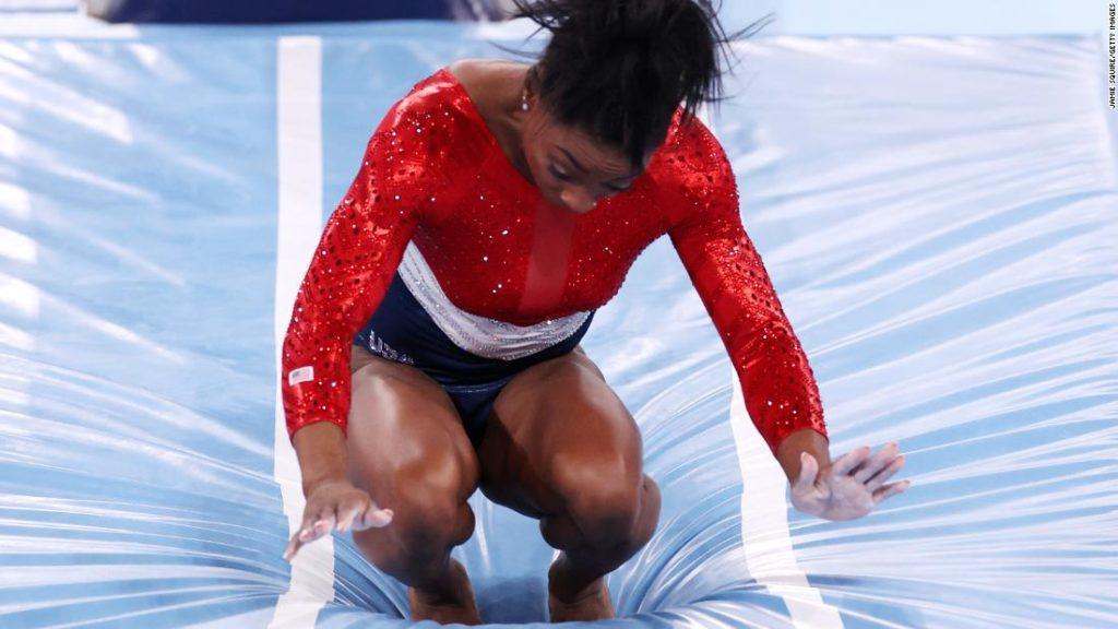 Simone Biles withdraws from women's team gymnastics at Tokyo 2020 Olympics