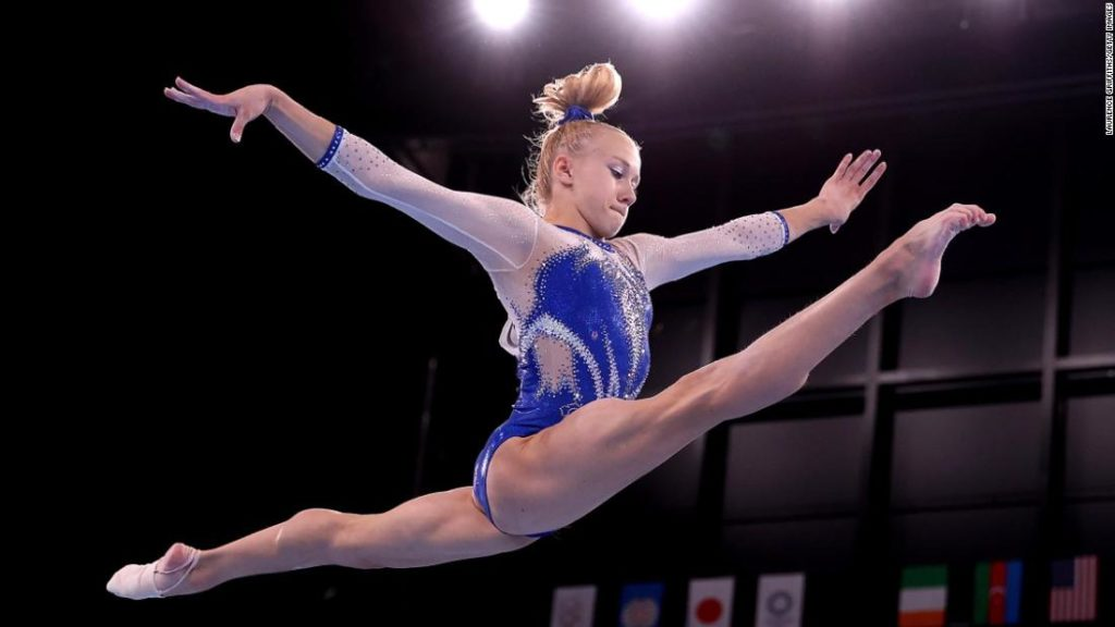 Russian Olympic Committee wins gold in women's team gymnastics as Team USA hit by Simone Biles withdrawal