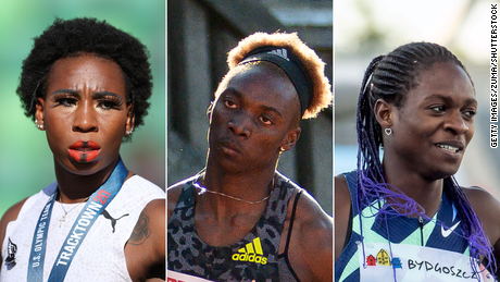 Black women athletes are still being scrutinized ahead of the Olympics despite their successes