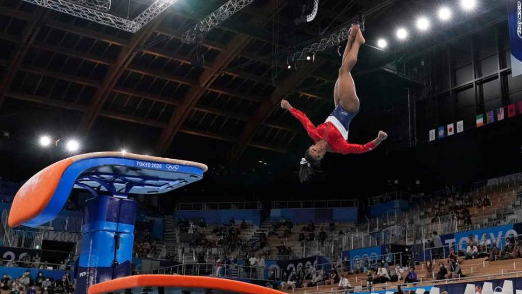 US Olympian Simone Biles' withdrawal from the team final reminds us that she's human -- and still very much the GOAT