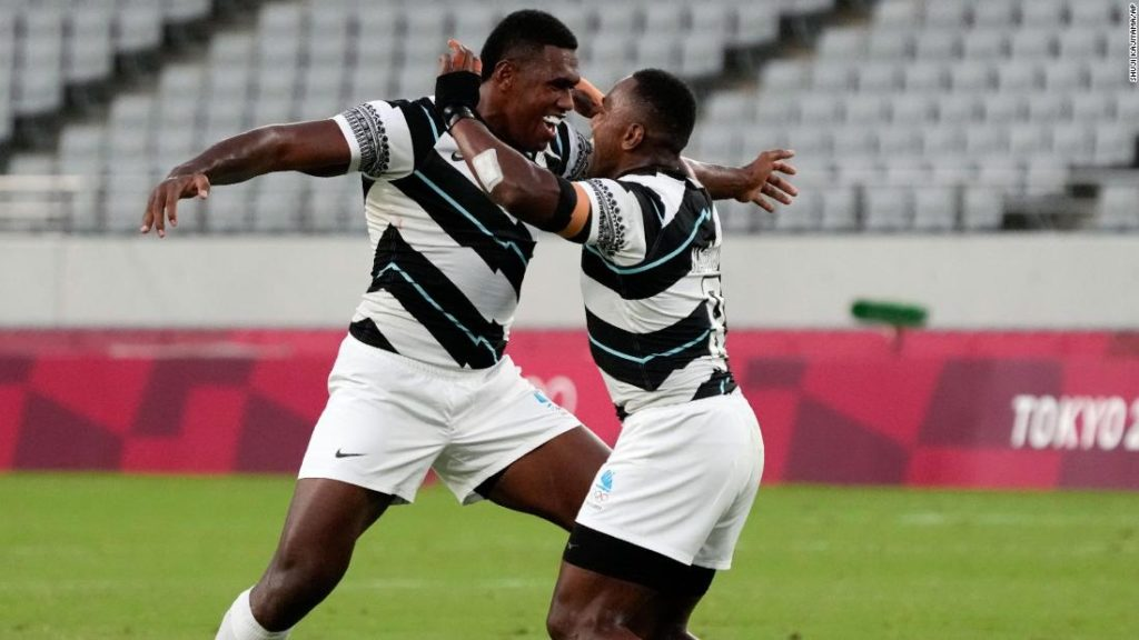 Fiji retain rugby sevens gold medal with victory over New Zealand at Tokyo Olympics