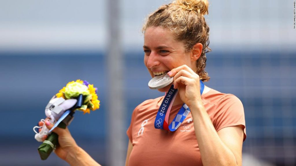 Why Olympians bite their medals and what they do with them
