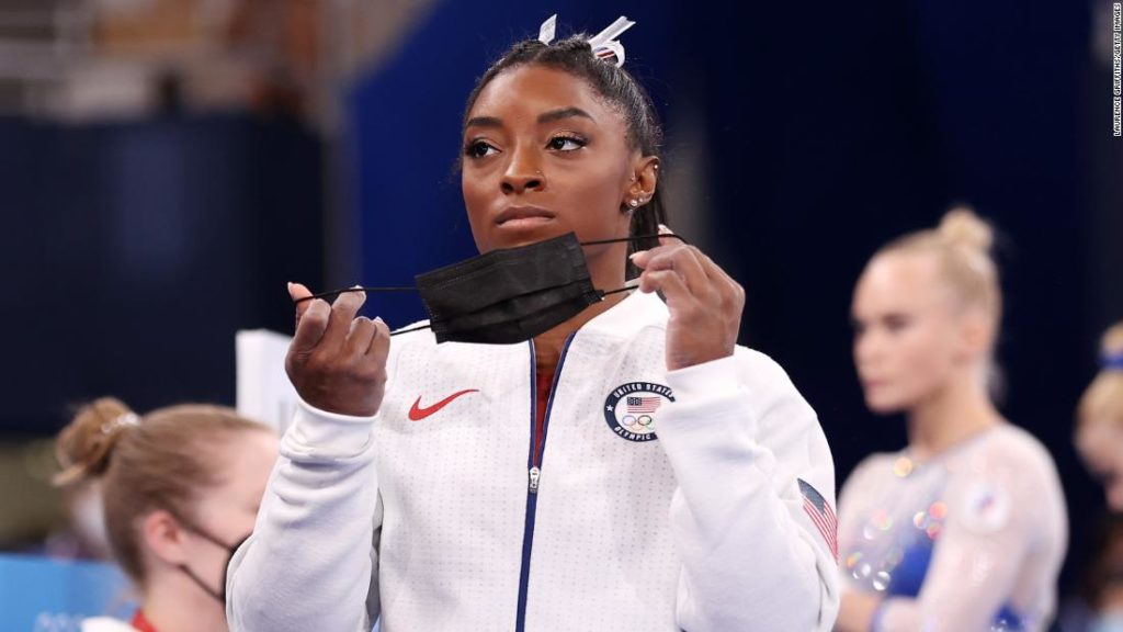 Tokyo Olympics: Simone Biles withdraws from vault and uneven bars finals