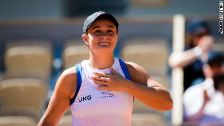 Barty is returning from injury having been forced to retire from the French Open earlier this month.