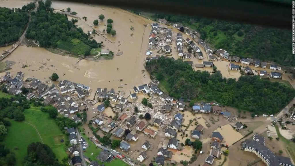 Dozens killed and missing in catastrophic flooding across western Europe