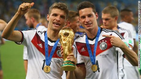 Germany has enjoyed more success than England in recent years, winning the 2014 World Cup.