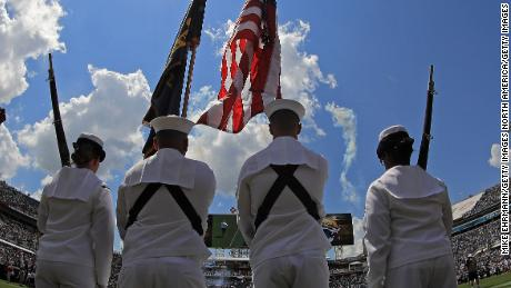 In the US Navy, I learned about honor, courage, commitment and sexism