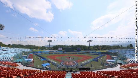 The Fukushima Azuma Stadium is hosting seven games at the Olympics.